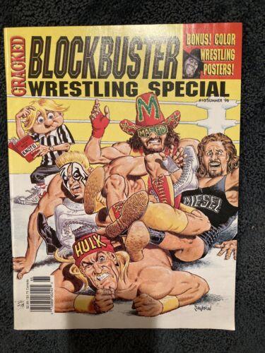 CRACKED Blockbuster Wrestling Special #10/Summer '96 Hogan Sting Savage Diesel
