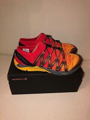 NEW - Merrell Bare Access Flex Knit Mens Running Shoes - Tropical...