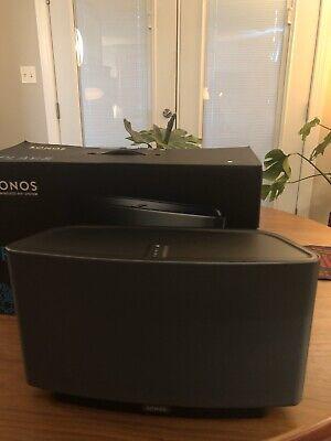 SONOS PLAY:5 GEN 1 - BLACK - WIRELESS SPEAKER - EXCELLENT COND - IN ORIGINAL BOX