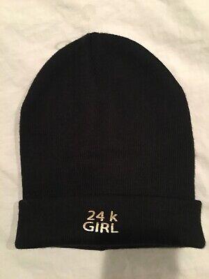Zara Knit Hat, 24kart Girl, One Size, New!