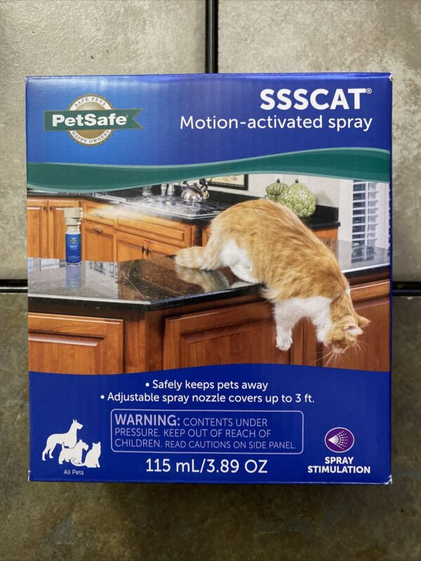 PetSafe SSSCat Motion Activated Spray Deterrent for Dogs and Cats lot of 4