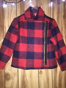 Joe fresh little girls (3yrs) plaid jacket