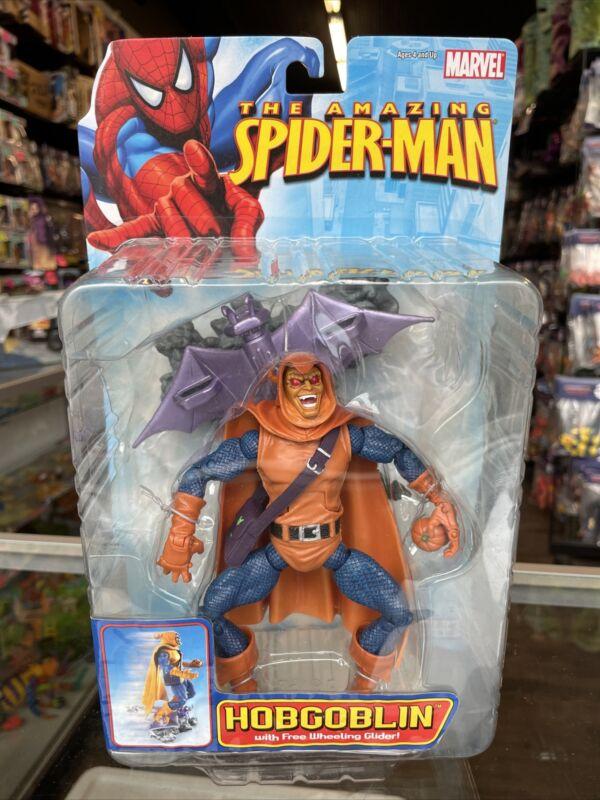 AMAZING SPIDER-MAN HOBGOBLIN ACTION FIGURE WITH FREE WHEELING GLIDER 2006 MINMP