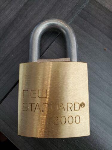 New Standard 2000 Padlock accepts Corbin 6 pin IC cores
