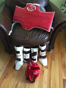 Unused Tae Kwon Do Sparring Equipment