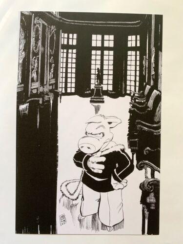 CEREBUS High Society Regency Edition Promotional print NEW Dave Sim ART !