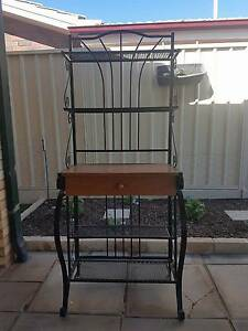 Imitation antique bakers stand / Hall unit / Display shelves Hallett Cove Marion Area Preview