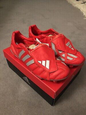 Adidas Predator Mania Red Remake FG UK 10 Football Boots BNIBWT