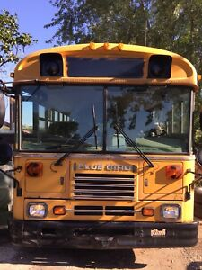 2004 blue bird School bus