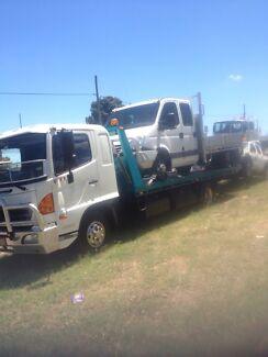Tilt slide fd hino tow truck 2010 model 1 owner Logan Reserve Logan Area Preview