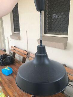 Black diy install pendant light.