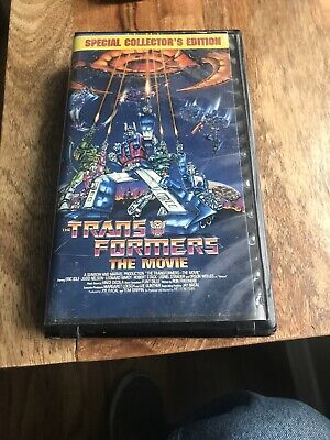 TRANSFORMERS The Movie VHS 1986 RARE