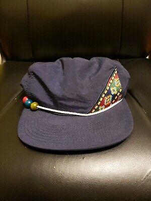 Vintage 80's Reebok Colorful Rare Nylon Hat