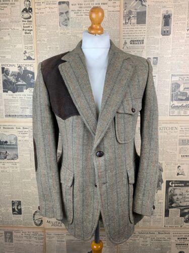 Vintage Aquascutum tweed field jacket size 42