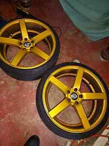 20 inch GOLD RIMS FOR SALE $650 Wattle Grove Liverpool Area Preview