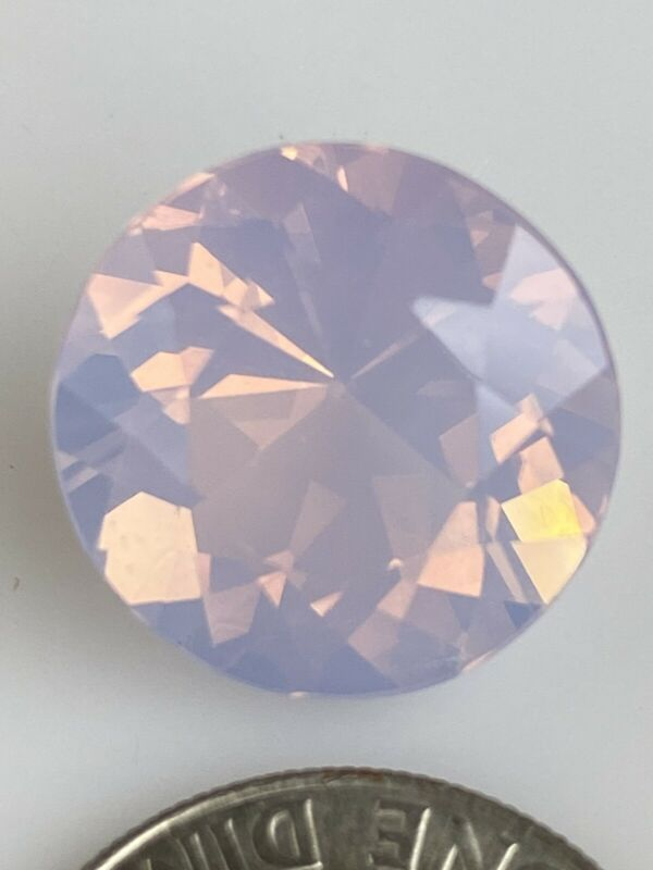 8.94ct Lavender Quartz Round Faceted Stone