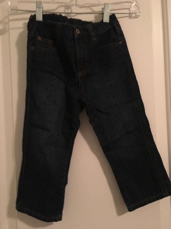 Wrangler Jeans Co Toddler Baby Boys Blue Denim Jeans Sz 3T Bottoms