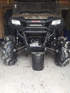 2017 Honda 700 pioneer might trade for a Can am