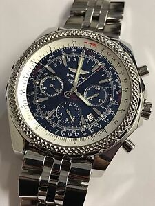 BREITLING Bentley Motors Special Edition Watch A25362 Stainless Steel Automatic
