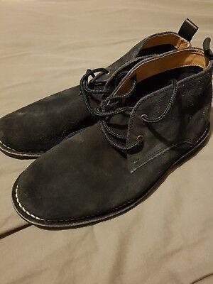 Burton blues suede shoes size 9, hardly worn VGC