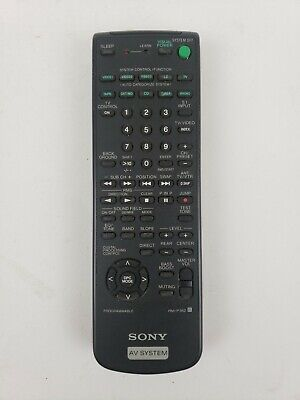 Sony AV System Remote Control Model RM-P362 Home TV Video & Audio Accessories   Home Control System Remote