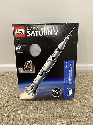 LEGO 21309 Space Ideas NASA Apollo Saturn V - *BRAND NEW, SEALED* Packed w/ Care