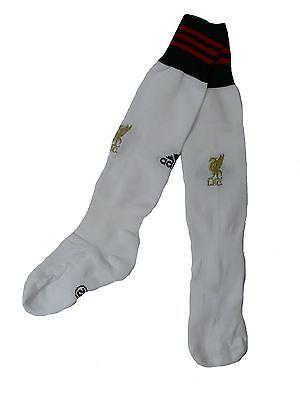 Adidas Fussball FC Liverpool Kinder Stutzen - Socken Gr. 34-36 weiss (Weiße Adidas Fußball Socken)