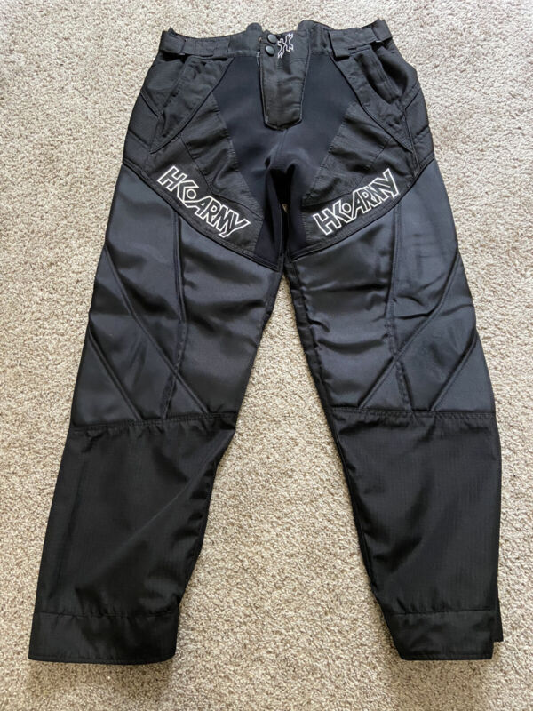 HK Army HSTL Line Paintball Pants - padded - Black -  XL 38-45