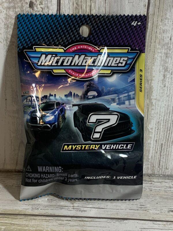 2021 Micro Machines Mystery Blind Bag series 3 NIB