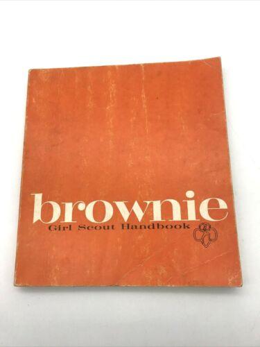 Brownie Girl Scout Handbook 1963 Edition 1970 11th printing Vintage