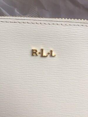 Ralph Lauren White Pouch Bag
