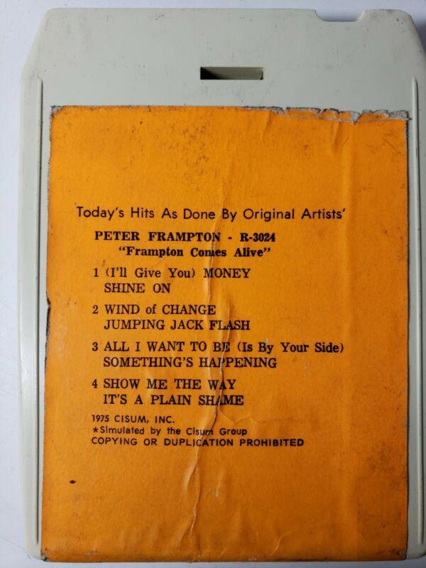 Peter Frampton Frampton Comes Alive 8 Track