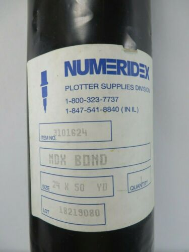"Plotting Paper Numeridex #3101624 24"" X 50"" NDX Bond"