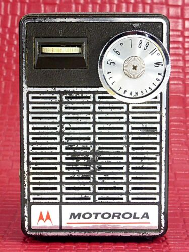Vintage Motorola AM Transistor Radio (X23E) – Little Power House