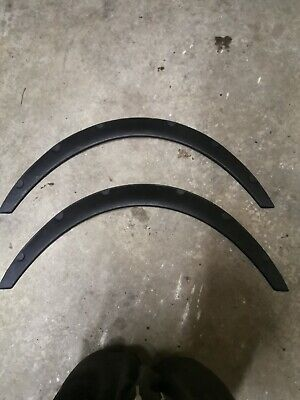 Universal 2PCS Car Fender Wheel Arches Flare Extension Flares Wide Polyurethane