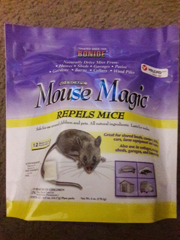 Bonide 12-Pack Mouse Magic Pest Repellent