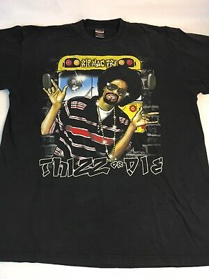 Mac Dre T-Shirt Men's XXXXL Thizz Or Die Touch Line RIP Yellow Bus 4X Rap Tee for sale  Tacoma