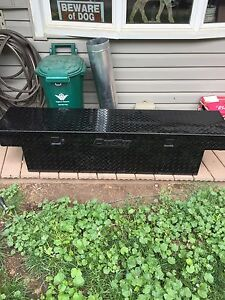 Deezee Blacked out Light Truck Tool Box.  $375