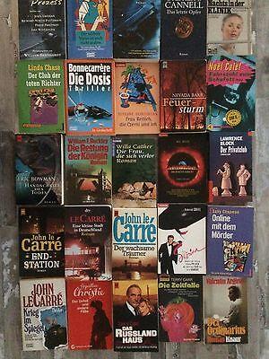 Bücherpaket bestehend aus 50 deutschsprachigen Romanen