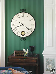 Howard Miller 625-310 Magdalen - Large Gallery Wall Clock with Pendulum
