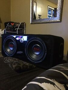 Boss subs and sub box