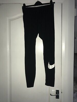 Nike Leggings Black Size Medium Ladies