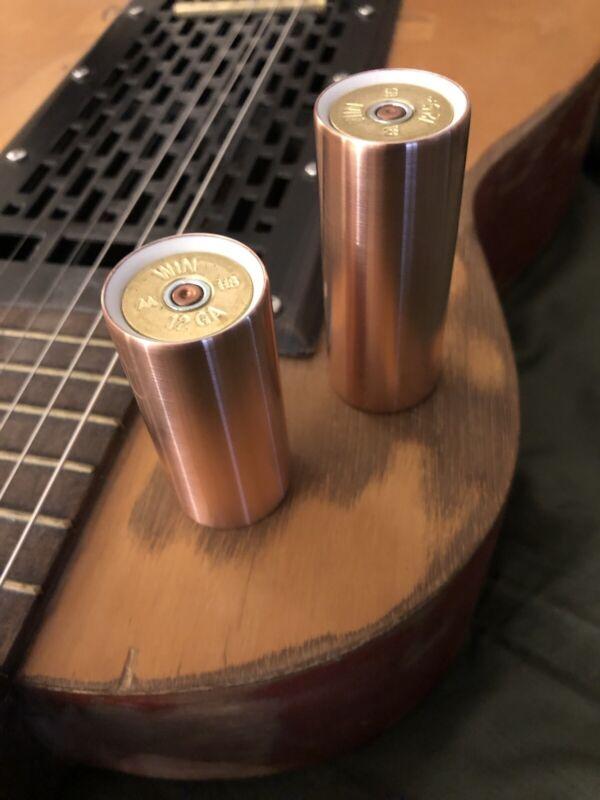 JSA Cu53/Cu55 Copper Hybrid, Tone Bar, (Lap) Steel Guitar Slide Combo (2 Slides)