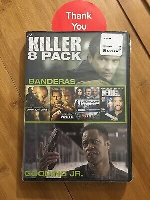 Killer 8 Pack Collection DVD *BRAND NEW*