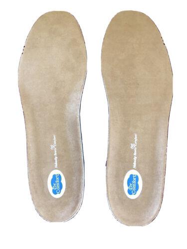 NEW Dr. Comfort Custom Diabetic Shoe Inserts Insoles Mens Si