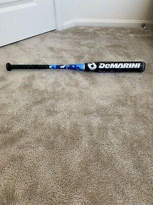 "Demarini Vexxum Alloy Aluminum Baseball Bat 30"" 18oz -12"