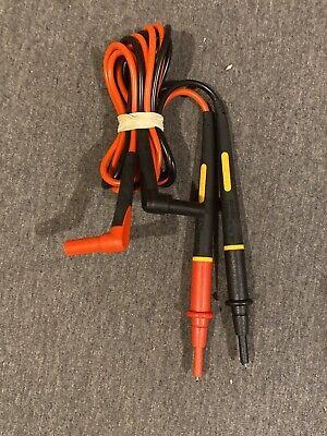 Genuine Fluke Tl175 Twistguard Unique Multimeter Clampmeter Test Lead Set