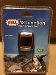 New BELL Bicycle Bike Computer 12 Function Large Display  New In Package