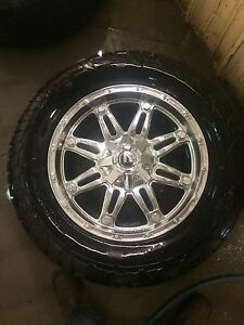 Fuel rims/tires for f150/1500