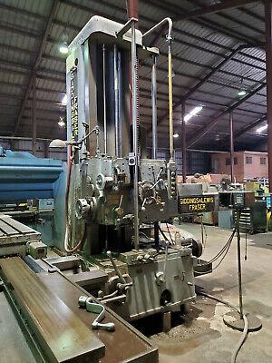 4 Giddings Lewis Fraser Horizontal T-4 Boring Mill